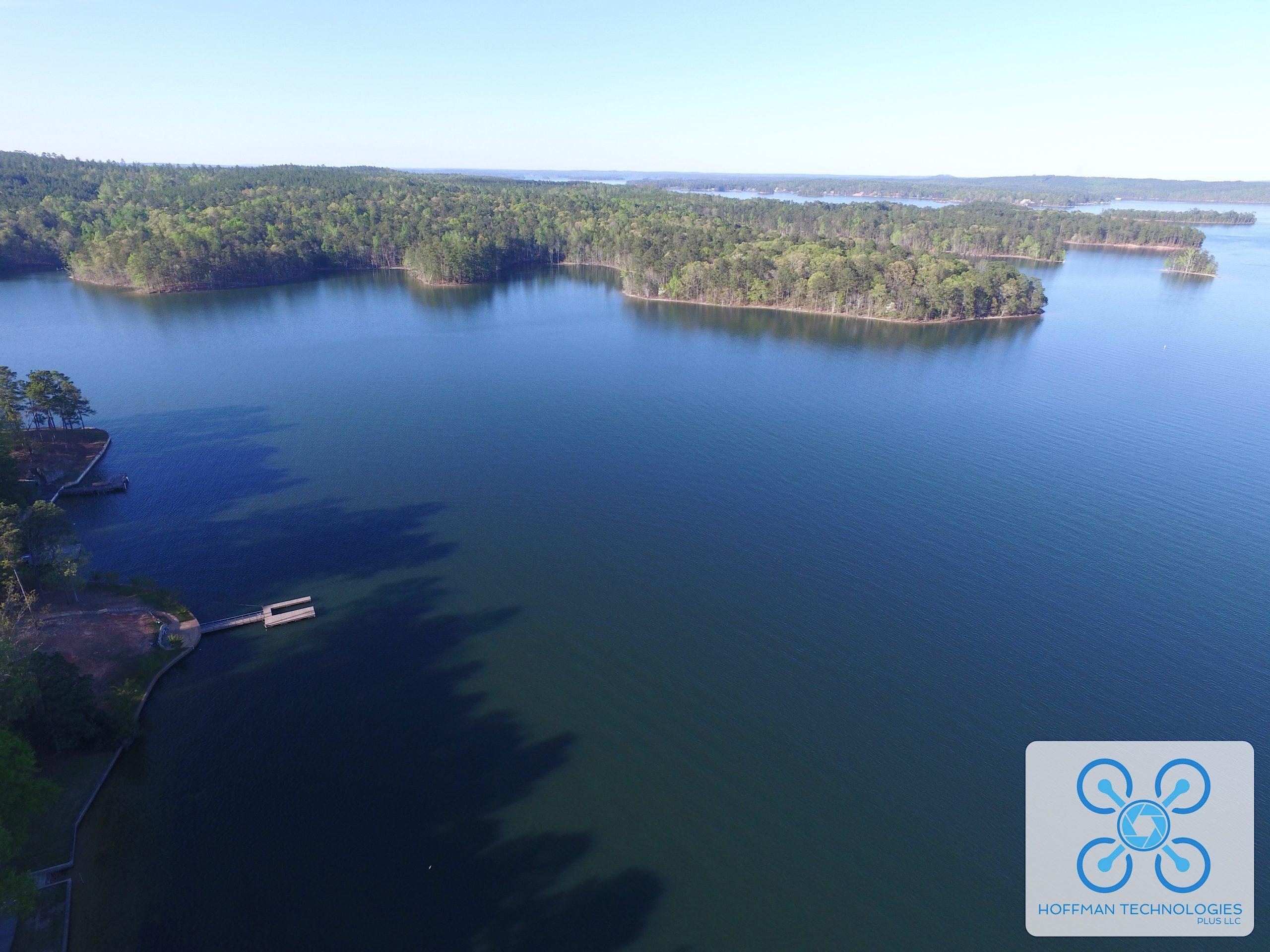 Hoffman Technologies Plus Aerial Lake Image